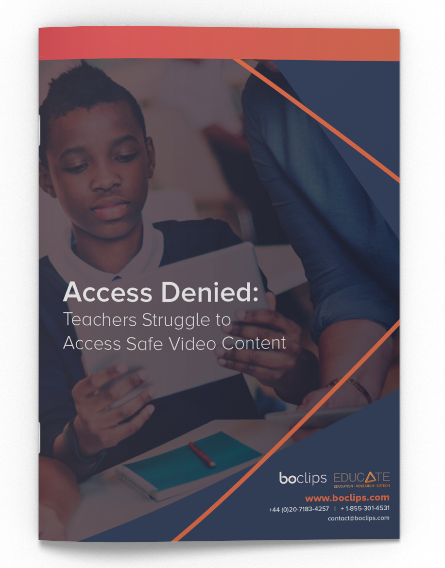 Teachers Access to Educational Video Whitepaper
