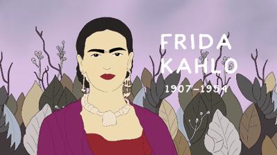 Frida Kahlo educational history video for International Women's Day
