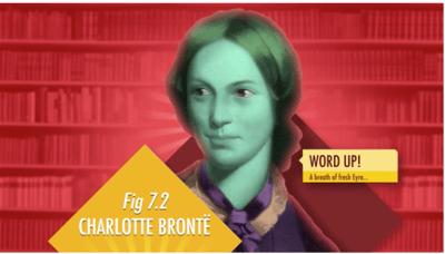 Charlotte Bronte educational history video for International Women's Day