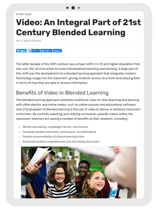 Blended learning ideas
