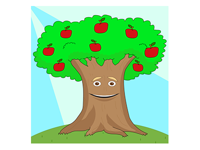 English Tree Tv Logo