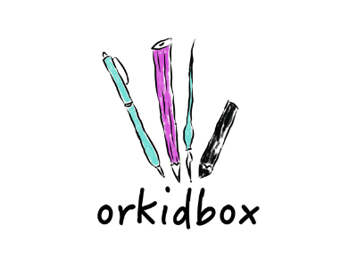 Orkidbox logo